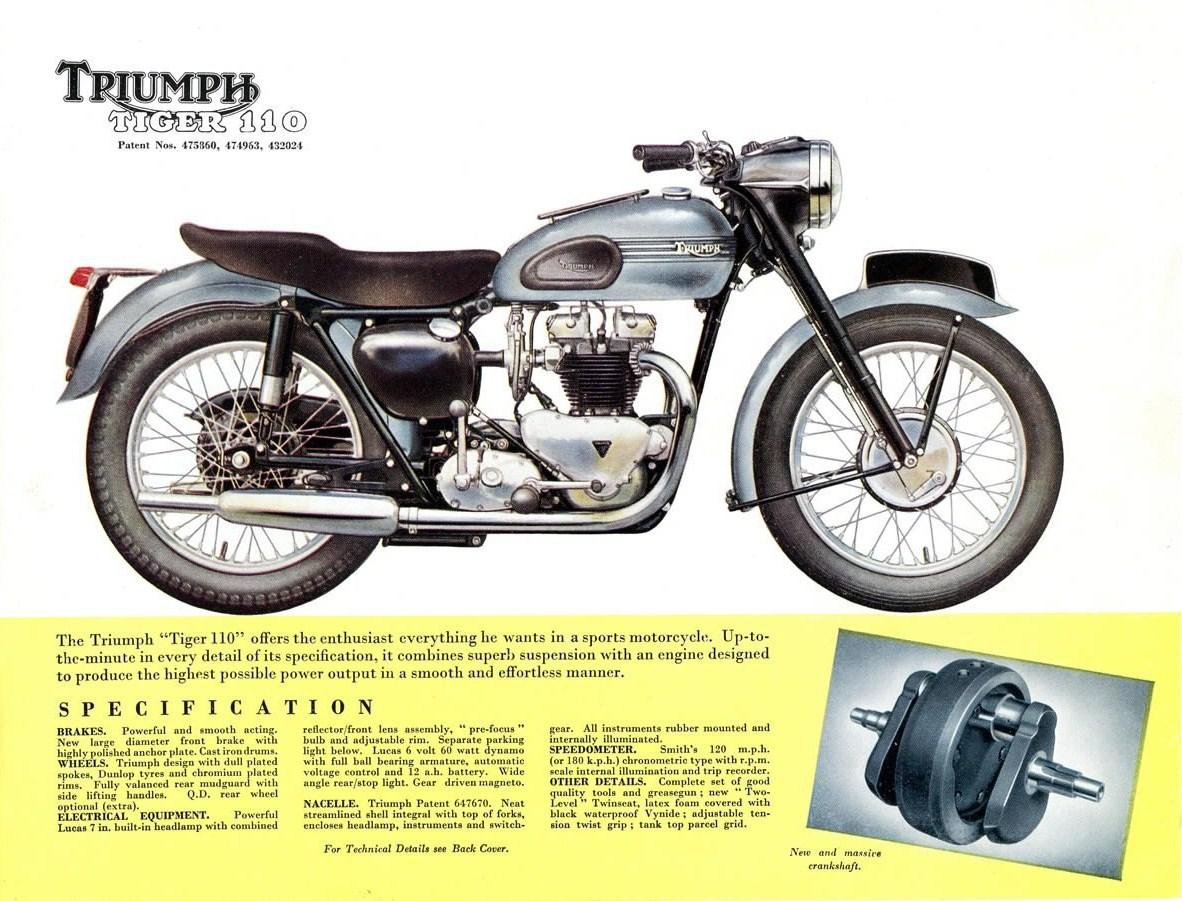 moto triumph retocada