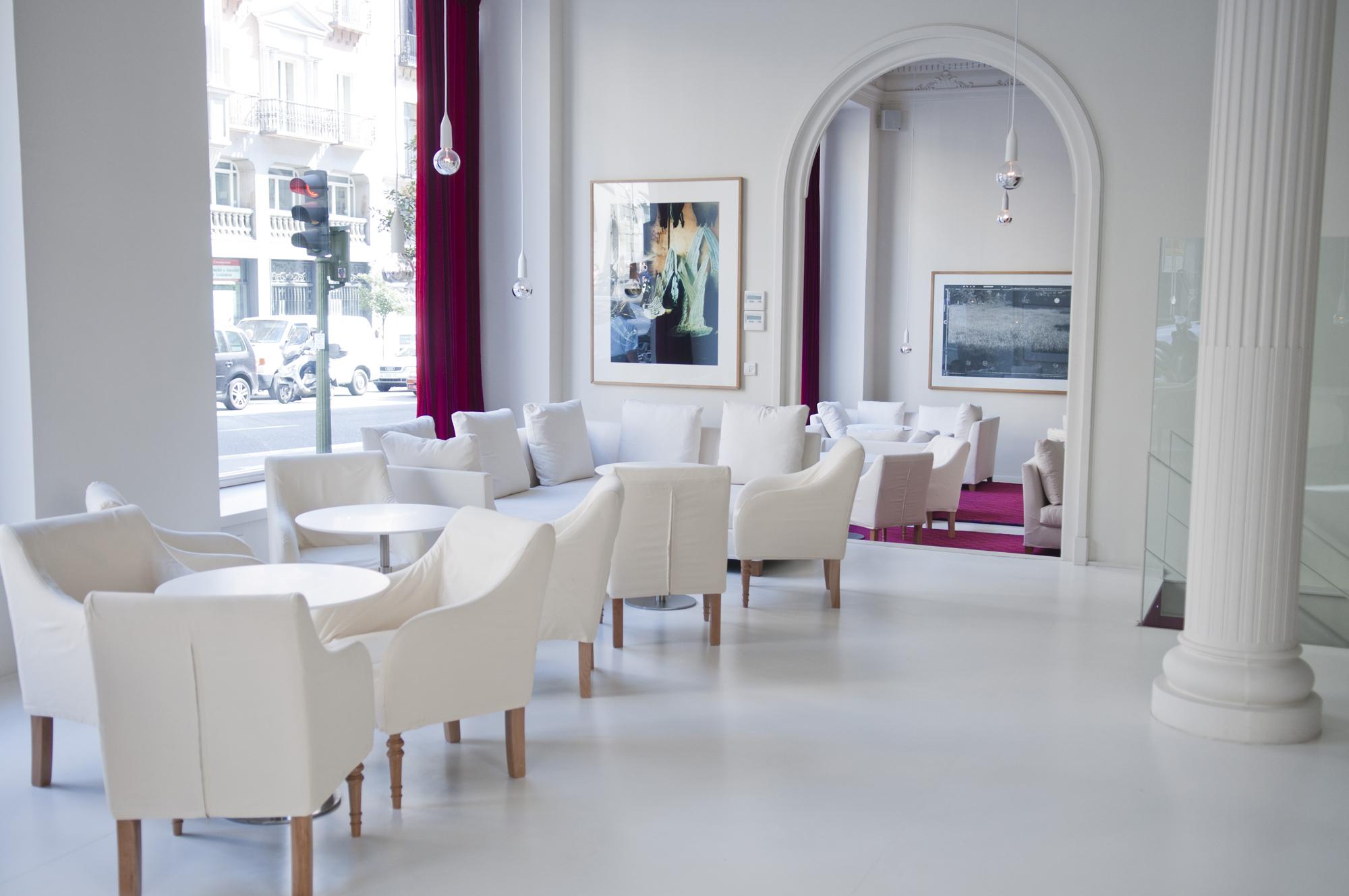 Reportaje para el Hotel Las letras, en la C/ Gran via, de su nuevo espacio Lounge.